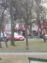 Pożar na Morenie na Zabłockiego