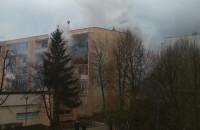 Pożar na ul. Franciszka Zabłockiego