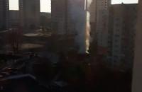 Na Morenie doszło do niegroźnego pożaru