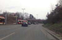 Stoją tramwaje