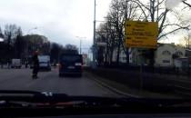 Nagranie po wypadku na Kartuskiej