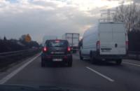 Korek na obwodnicy w kierunku Gdańska