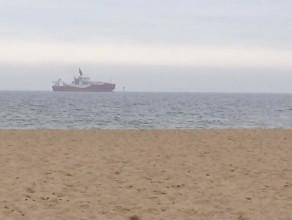 Niezwykły statek wchodzi do portu