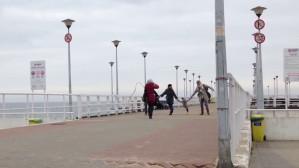 Spacerem po molo w Jelitkowie