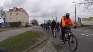 Przejazd rowerowy przez Gdynię dla Tomka Milewskiego