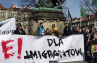 Manifestacja przeciw imigrantom w Gdańsku