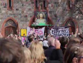 """Manifestacja """"Nie dla torturowania kobiet!"""""""