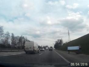 Autostopowicze tworzą korek na obwodnicy?
