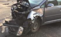 Skutki wypadku na Siennickiej
