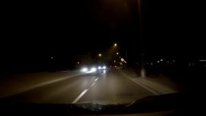 Nic nie widać, zakaz, skrzyżowanie - ale co tam...
