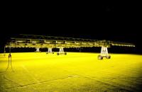 Doświetlanie murawy na Energa Stadionie