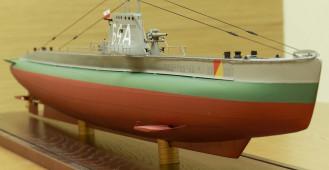 Buduje modele polskich okrętów