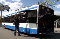 Testy nowych trolejbusów w Gdyni