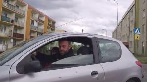 Kierowca przeprasza za naszym pośrednictwem