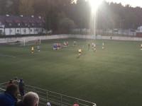 Maksymilian Hebel efektownym golem ustalił wynik derbów Gdyni w III lidze