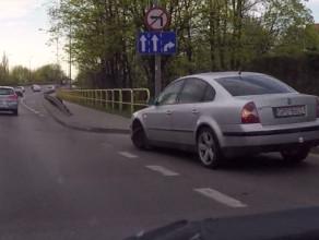 VW prawie urwał koło