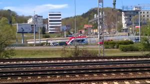 Potrącenie na drodze Różowej koło Riviery w Gdyni