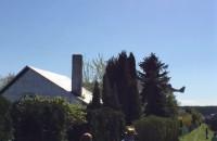 Start samolotu wojskowego na Babich Dołach