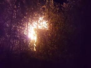 Pożar Willi Orlej w Gdyni na Kamiennej Górze