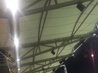 Fajerwerki nad stadionem uświetniły awans Arki Gdynia do ekstraklasy