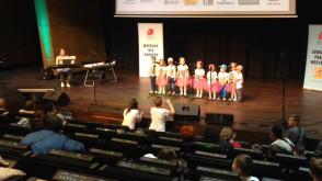 Przedszkolaki śpiewają o Gdańsku w ECS