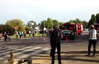Skutki wypadku w centrum Gdyni