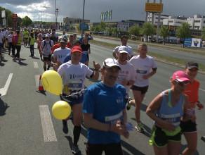 Maratończycy przebiegli przez Gdańsk