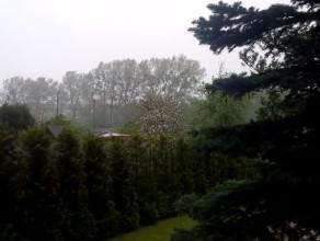 Oberwanie chmury i wichura w Gdyni