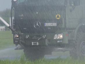 27-tonowy strażak w gdyńskiej jednostce wojskowej