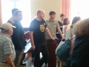 Alarm bombowy w Sądzie Okręgowym w Gdańsku