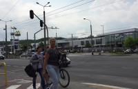 Ewakuacja w centrum handlowym Klif