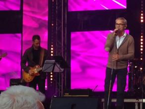 Robert Janowski śpiewał na Targu Węglowym