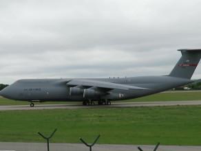 Lockheed C-5 Galaxy w Gdańsku