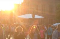 Setki turystów w Gdańsku