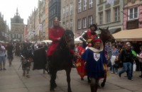 Gdańska parada na święto miasta