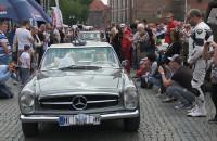 Zlot zabytkowcyh mercedesów w Gdańsku