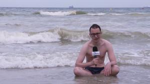 Nietypowy kolor wody w Bałtyku to nie sinice