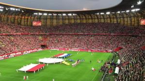 Powitanie przed meczem Polska-Holandia