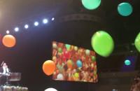 Balony na finał koncertu Andre Rieu