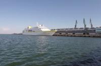 Luksusowy wycieczkowiec Hamburg w Gdyni