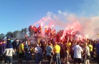 Race odpalone na czynnej fontannie