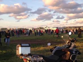 Tłumy czekają na start Rusłana