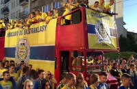 Piłkarska feta w Gdyni