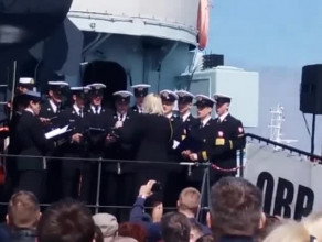 Występ Chóru Akademii Marynarki Wojennej w Gdyni