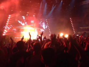 Armin van Buuren - fragment koncertu w Ergo Arenie