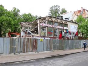 Rozbiórka budynku przy ul. Konopnickiej 10