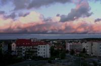 Płynące chmury nad Karwinami