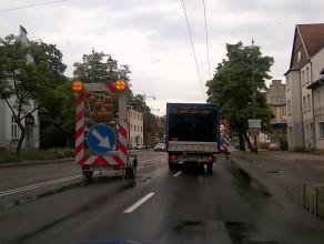 Prace drogowe paraliżują Sopot