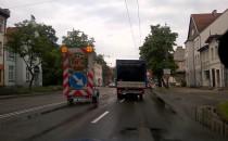 Przyczyna korków w Sopocie