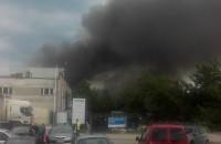 Pożar magazynów na Chwaszczyńskiej